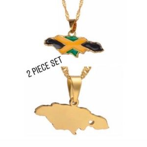 jamaica necklace 2 piece set
